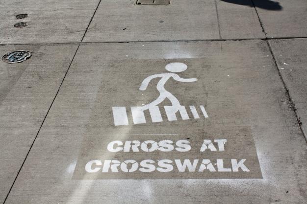cross-at-crosswalk