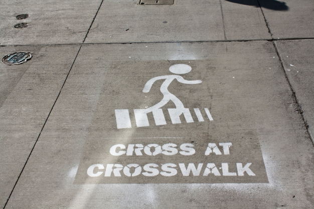 cross-at-crosswalk