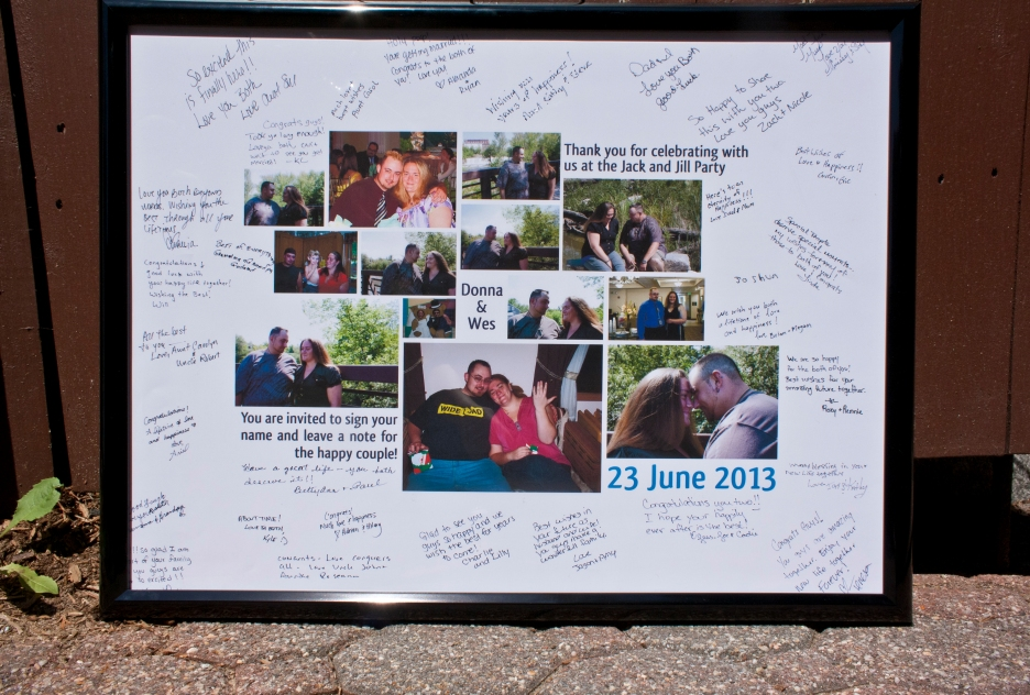 Jack and Jill guest book